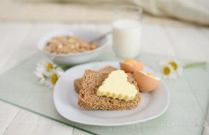 Breakfast Breakfast In Bed Muesli Bread Butter